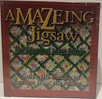 Amazing Jigsaw - The Diagonal Maze Puzzle