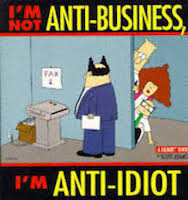 I'm Not Anti-Business