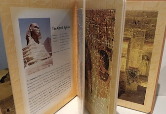 Ancient Egypt Jigsaw Puzzle Story Book