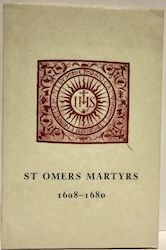St Omers Martyrs 1608-1680