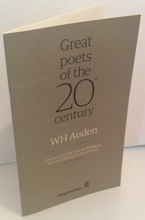 Great Poets of the 20th Century - W H Auden