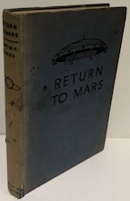 Return To Mars - a story of interplanetary flight