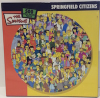 The Simpsons Springfield Citizens