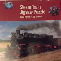 Steam Train Jigsaw