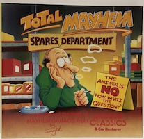 Total Mayhem Spares Department