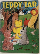 Teddy Tar Goes Camping