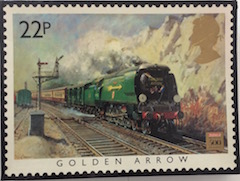 Golden Arrow by Terence Cuneo