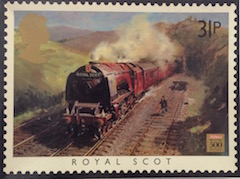 Royal Scot by Terence Cuneo