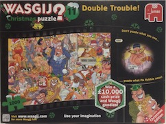 Wasgij? Christmas Puzzle 11 - Double Trouble