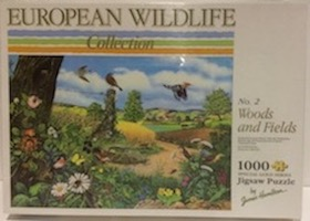 European Wildlife Collection - no. 2 Woods and Fields